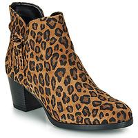 Pantofi Femei Botine André MARYLOU Leopard