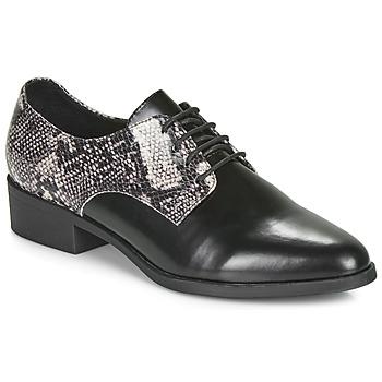 Pantofi Femei Pantofi Derby André NOUGATINE Negru / Imprimeu