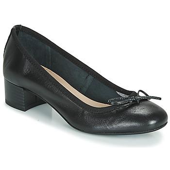 Pantofi Femei Balerin și Balerini cu curea André POEME Negru