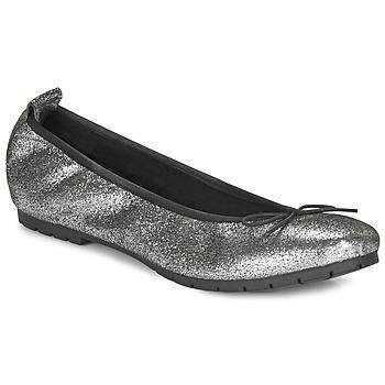Pantofi Femei Balerin și Balerini cu curea André NANA Argintiu