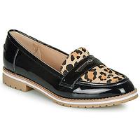 Pantofi Femei Mocasini André PORTLAND Leopard