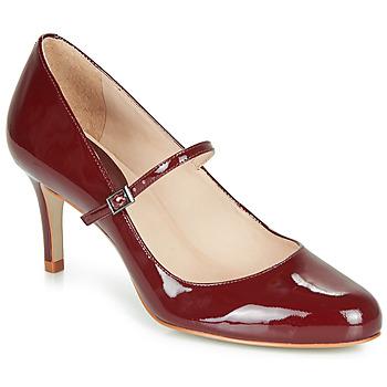 Pantofi Femei Pantofi cu toc André LUCIOLLE Roșu-bordeaux