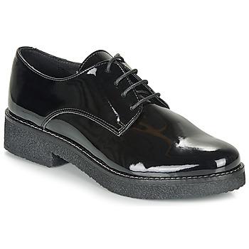 Pantofi Femei Pantofi Derby André NANEL Negru / Lac