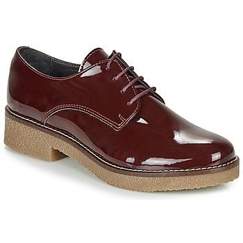 Pantofi Femei Pantofi Derby André NANEL Roșu-bordeaux