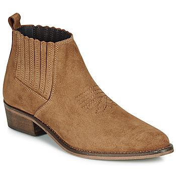 Pantofi Femei Ghete André MANA Camel