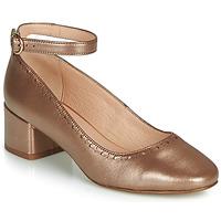 Pantofi Femei Balerin și Balerini cu curea André LAUREATE Auriu