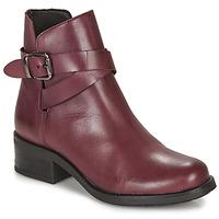 Pantofi Femei Ghete André NELL Roșu-bordeaux