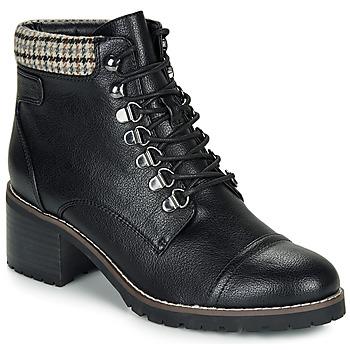 Pantofi Femei Ghete André EIGER Negru / Lac