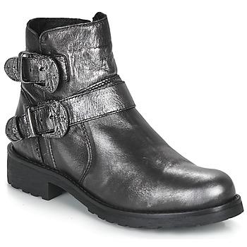 Pantofi Femei Ghete André NORCROSS Argintiu