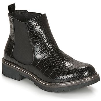 Pantofi Femei Ghete André NOVA Negru / Imprimeu