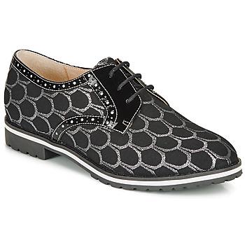 Pantofi Femei Pantofi Derby André DERIVEUR Argintiu