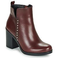 Pantofi Femei Botine André NOURA Roșu-bordeaux