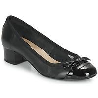 Pantofi Femei Balerin și Balerini cu curea André POEMINE Negru