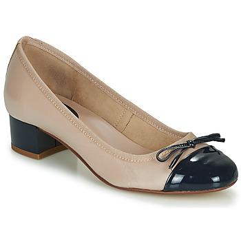 Pantofi Femei Balerin și Balerini cu curea André POEMINE Bej