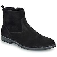 Pantofi Bărbați Ghete André LEMAN Negru