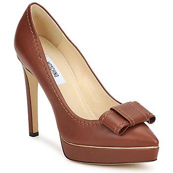 Pantofi Femei Pantofi cu toc Moschino MA1009 Tobacco