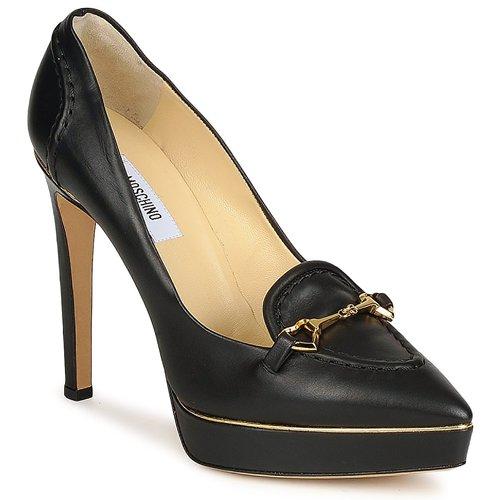 Pantofi Femei Pantofi cu toc Moschino MA1003 Nero