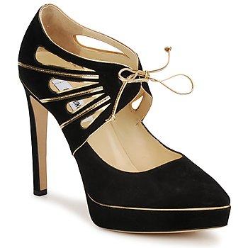 Pantofi Femei Pantofi cu toc Moschino MA1004  nero-or