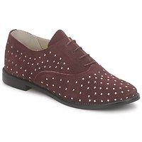 Încăltăminte Femei Pantofi Oxford Meline DERMION BIS Roșu-bordeaux