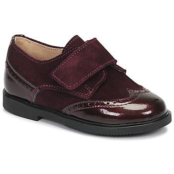 Pantofi Fete Pantofi Derby André JUNE Bordo