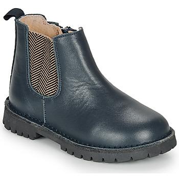 Pantofi Băieți Ghete André XAVIER Albastru