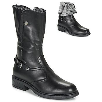 Pantofi Fete Ghete André MOSCOU Negru