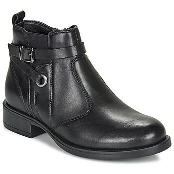 Pantofi Fete Ghete André MATHI Negru