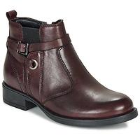 Pantofi Fete Ghete André MATHI Roșu-bordeaux