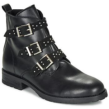 Pantofi Fete Ghete André REGLISSA Negru