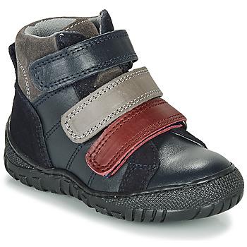 Pantofi Băieți Ghete André NOAM Bleumarin