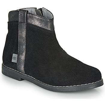 Pantofi Fete Ghete André NOLWENN Negru