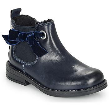 Pantofi Fete Ghete André VAL Bleumarin