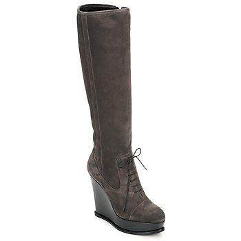 Pantofi Femei Cizme casual Moschino Cheap & CHIC CA2603 Taupe