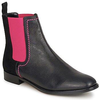 Pantofi Femei Ghete Moschino Cheap & CHIC CA2112 Negru / Roz