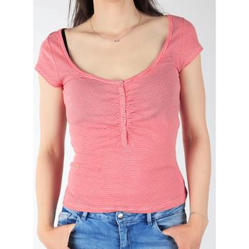 Îmbracaminte Femei Tricouri mânecă scurtă Lee L428CGXX red, white