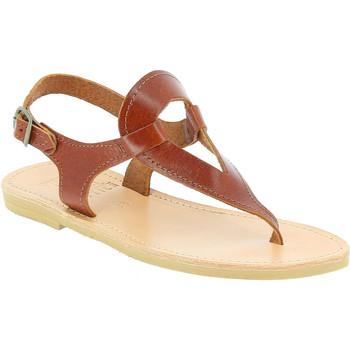 Pantofi Femei Sandale  Attica Sandals ARTEMIS CALF DK-BROWN marrone