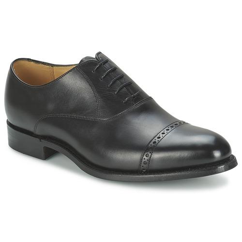 Pantofi Bărbați Pantofi Oxford Barker BURFORD Negru