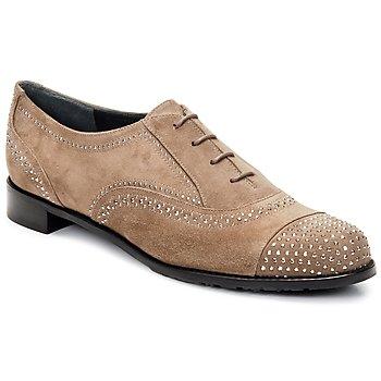Pantofi Femei Pantofi Oxford Stuart Weitzman DERBY Bej