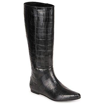 Pantofi Femei Cizme casual Roberto Cavalli SPS749 Negru
