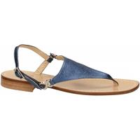 Pantofi Femei Sandale  Paolo Ferrara CUOIO NATURALE blue