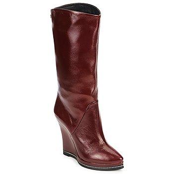 Pantofi Femei Botine Fabi FD9737 Bordo