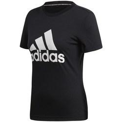 Îmbracaminte Femei Tricouri mânecă scurtă adidas Originals Must Haves Badge OF Sport Negre