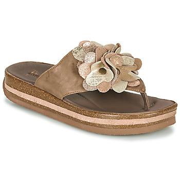 Pantofi Femei  Flip-Flops Think ZEGA Bej