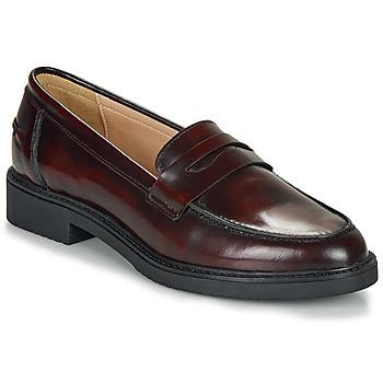 Pantofi Femei Mocasini André NERE Roșu-bordeaux