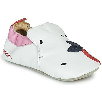 Pantofi Fete Papuci de casă Catimini CIRINI Alb / Roz
