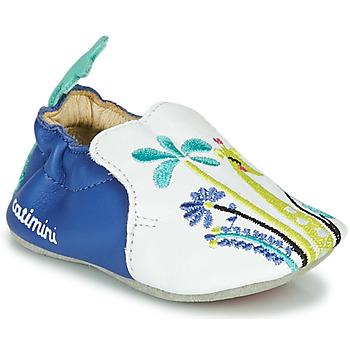 Pantofi Fete Papuci de casă Catimini COLIMA Alb / Albastru