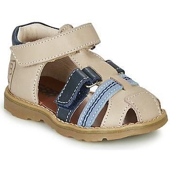 Pantofi Băieți Sandale  GBB DIMMI Bej / Albastru