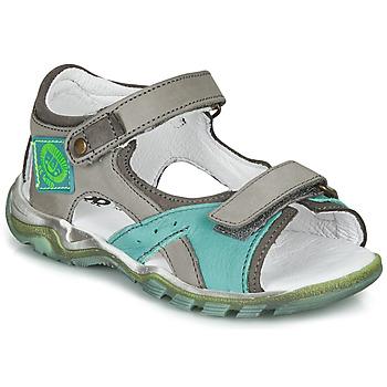 Pantofi Băieți Sandale  GBB EROPE Gri / Albastru
