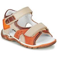 Pantofi Băieți Sandale  GBB EROPE Bej / Portocaliu