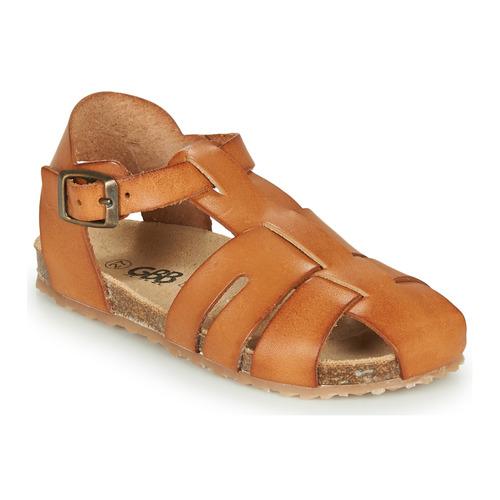 Pantofi Băieți Sandale  GBB FREDERICO Coniac